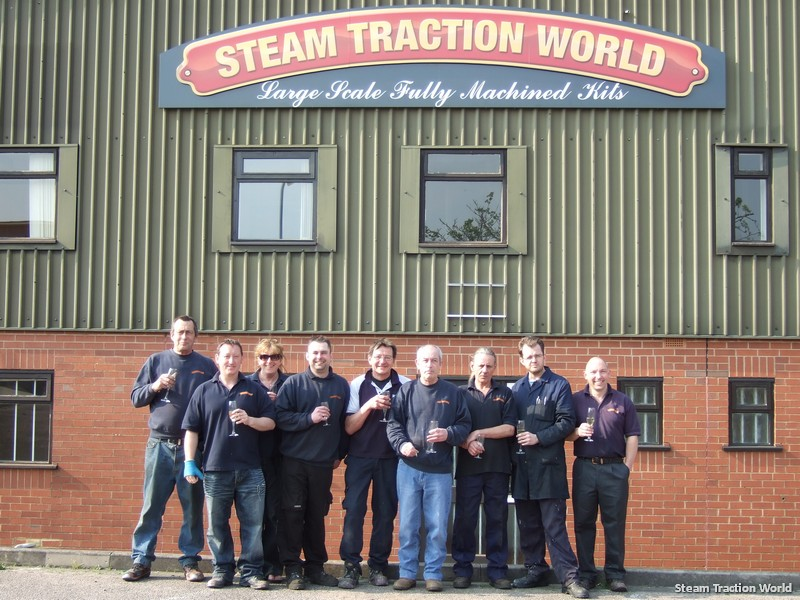 Steam Traction World Factory