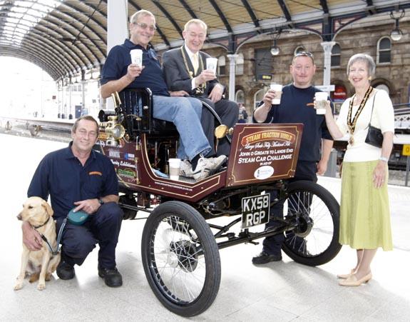 steam car Newcastle