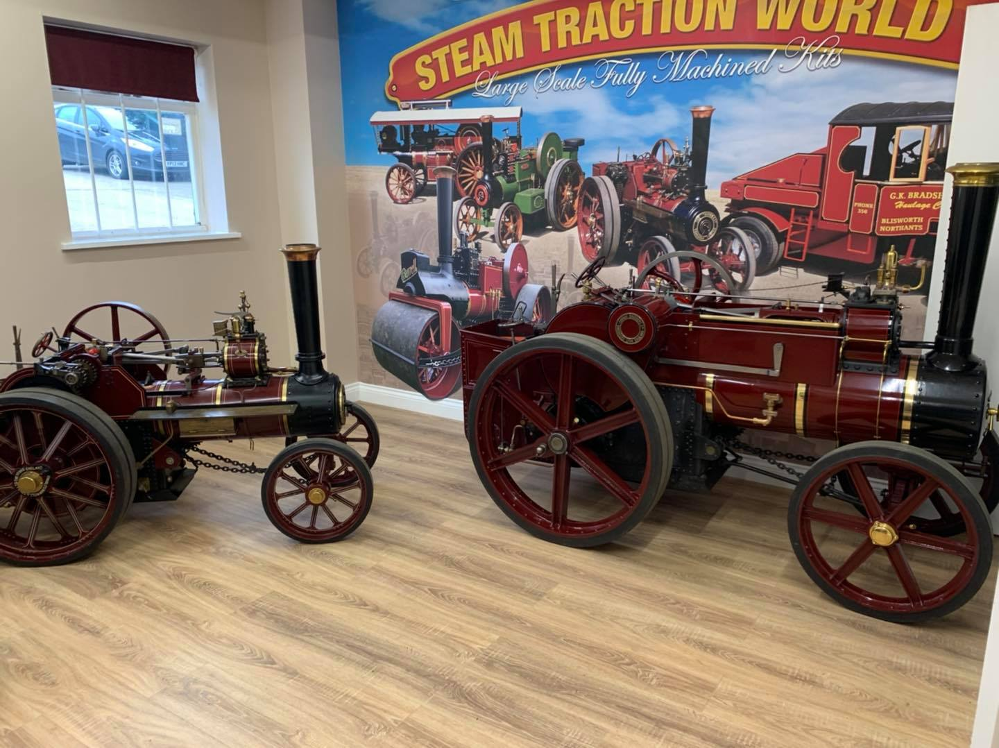 steam traction engine kits