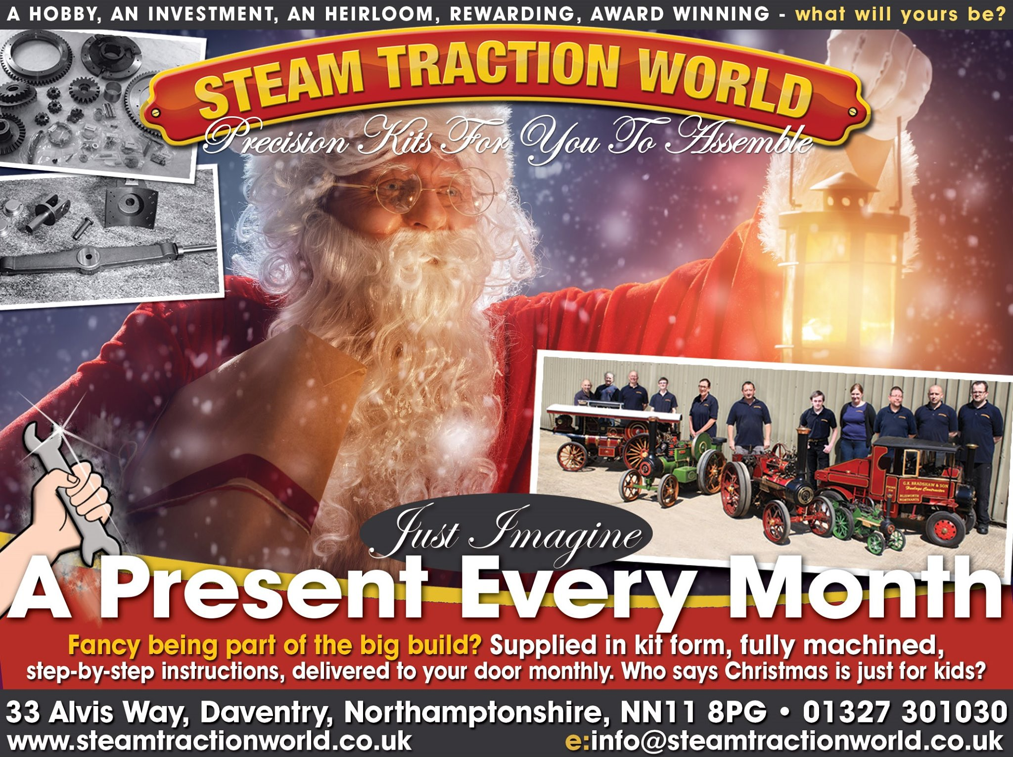 steam traction world christmas
