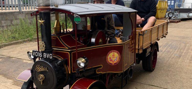 Foden Steam Engine