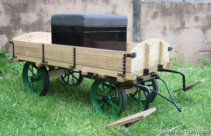 2 inch scale Driving Wagon