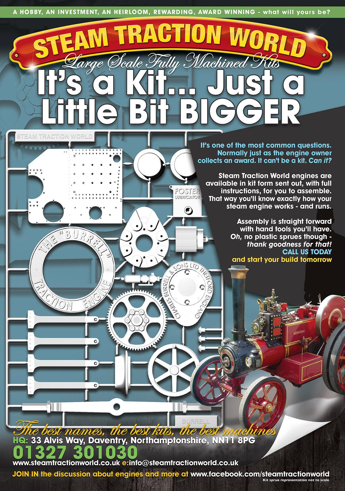 steam engine kit build