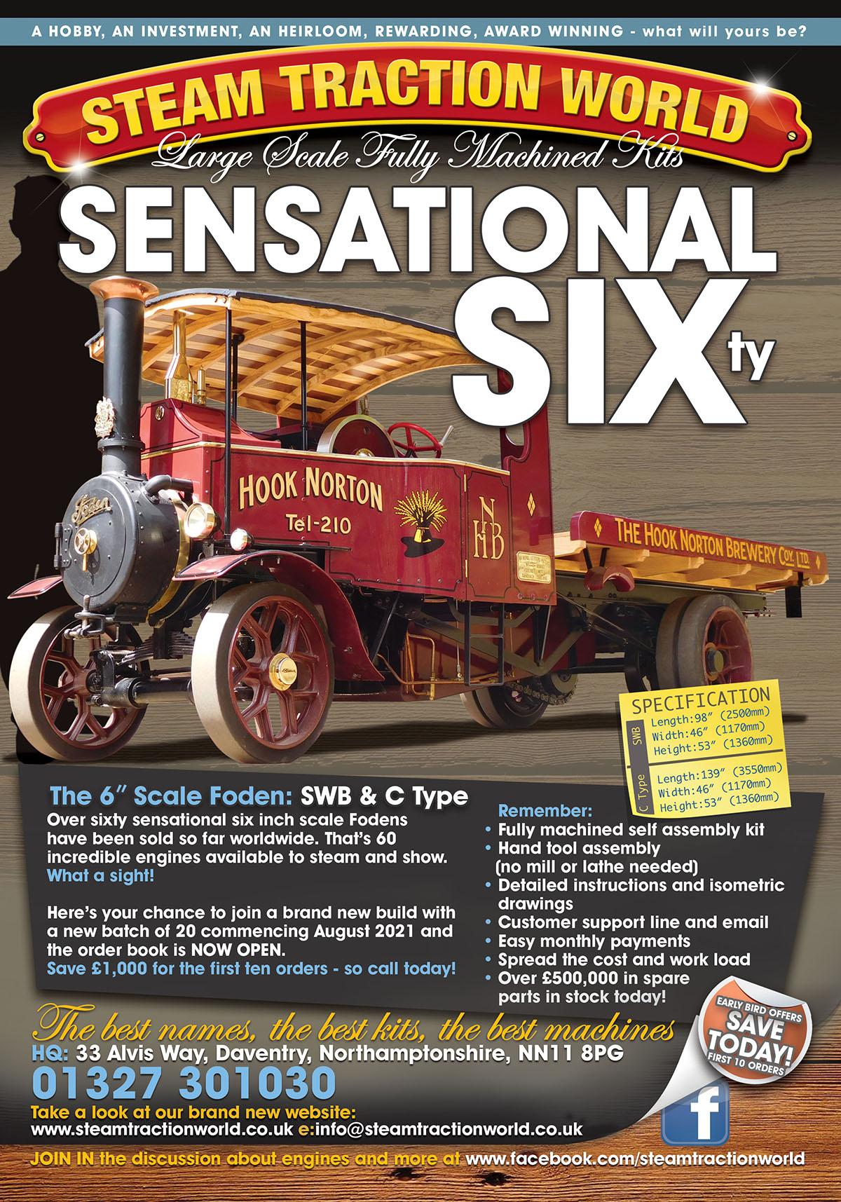 Advert: SENSATIONAL SIX-ty