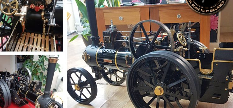 2 inch scale burrell steam engine
