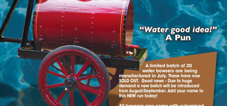 Steam Traction World Water Bowser