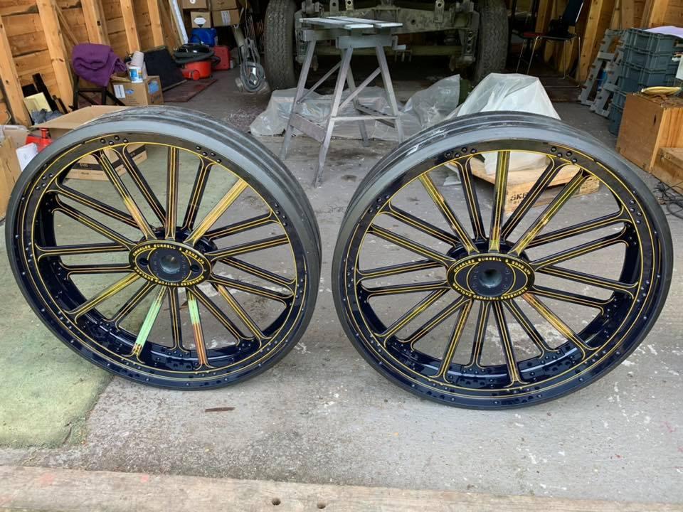 steam traction wheels