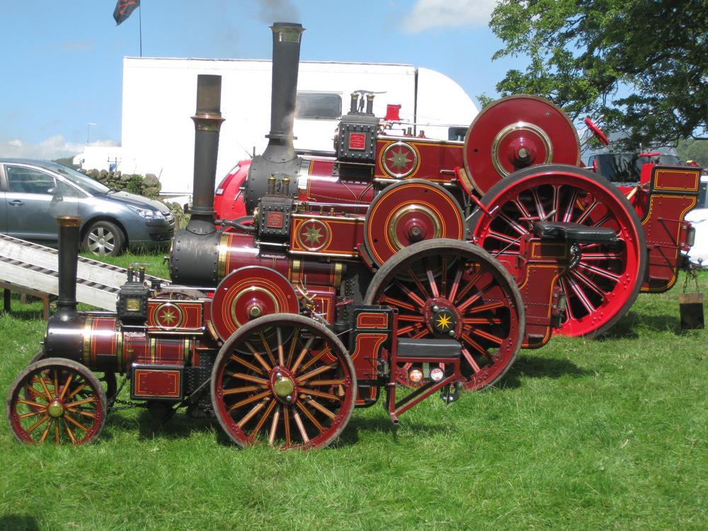 steam traction world engine kits