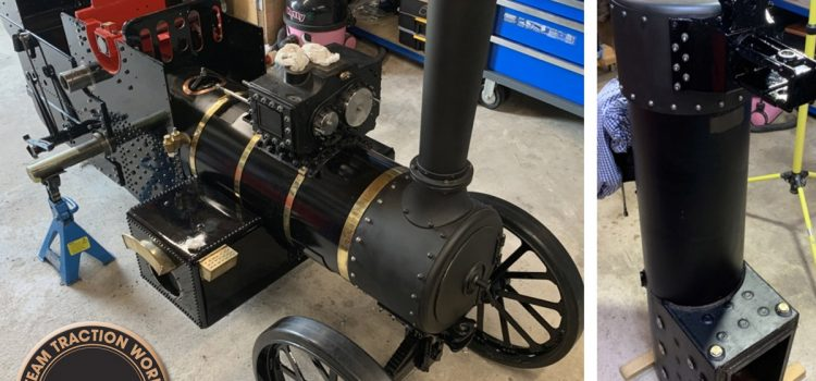 four inch steam engine