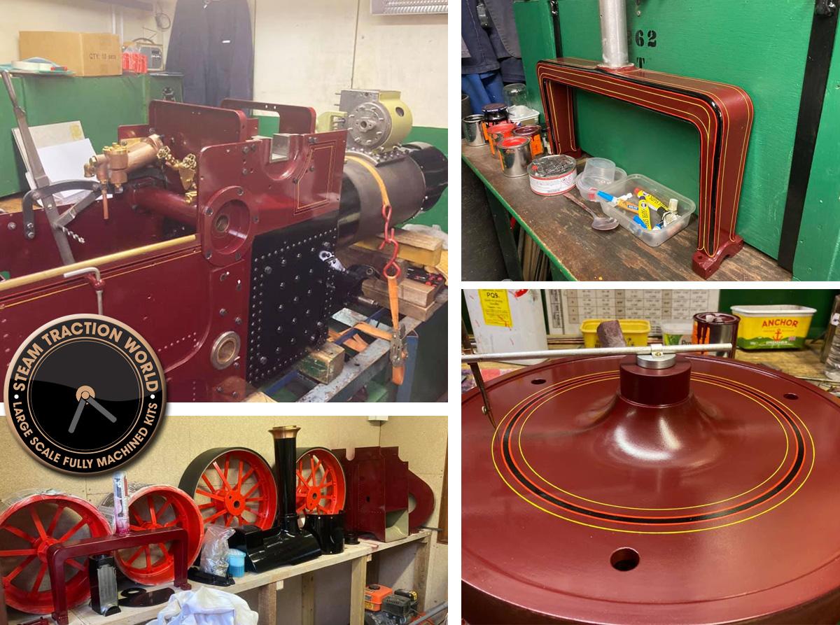 roller steam traction world