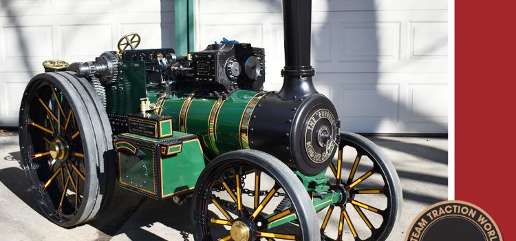 Build Burrell USA Steam Engine